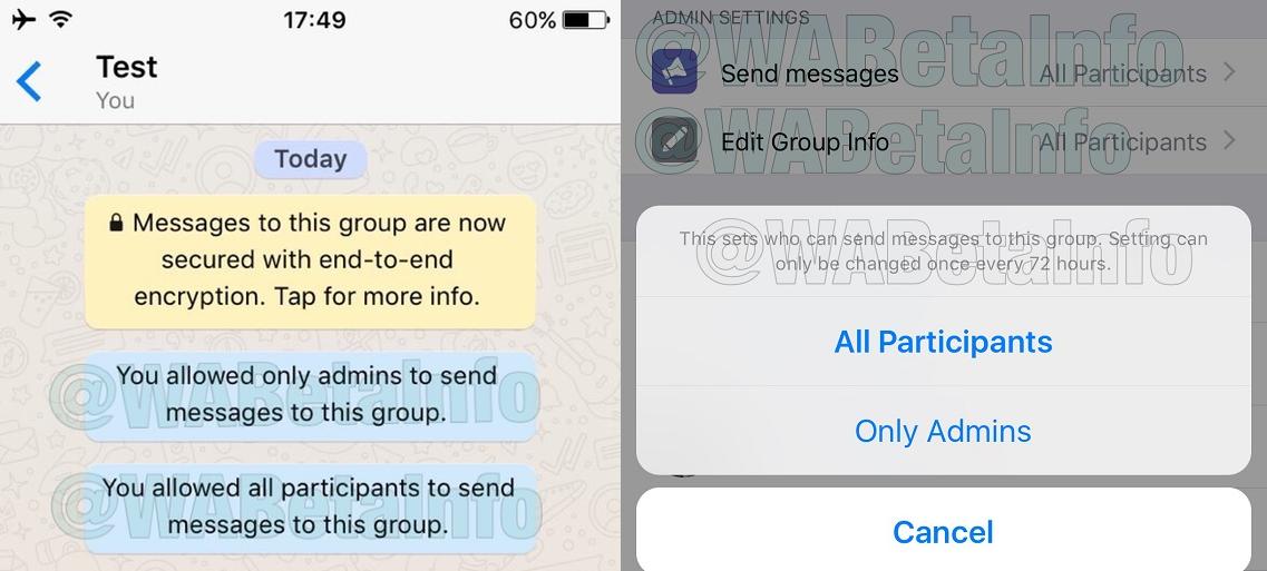 whatsapp stille groepen 001