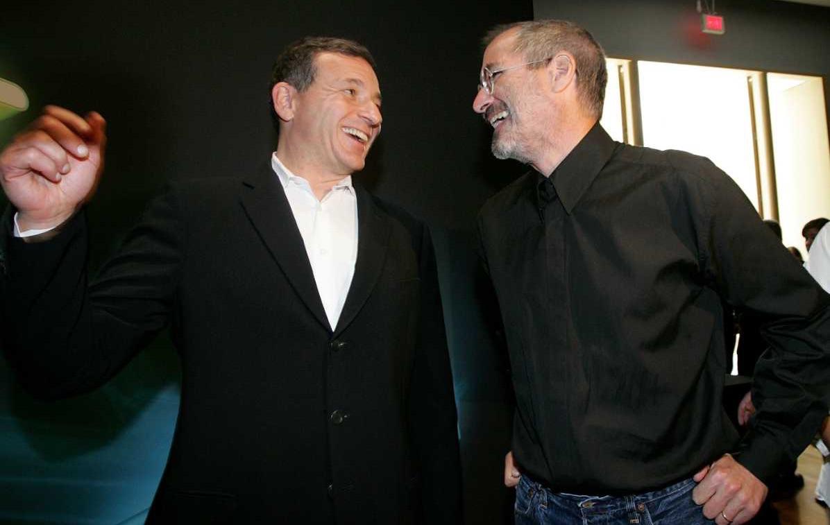 Bob Iger Steve Jobs 001
