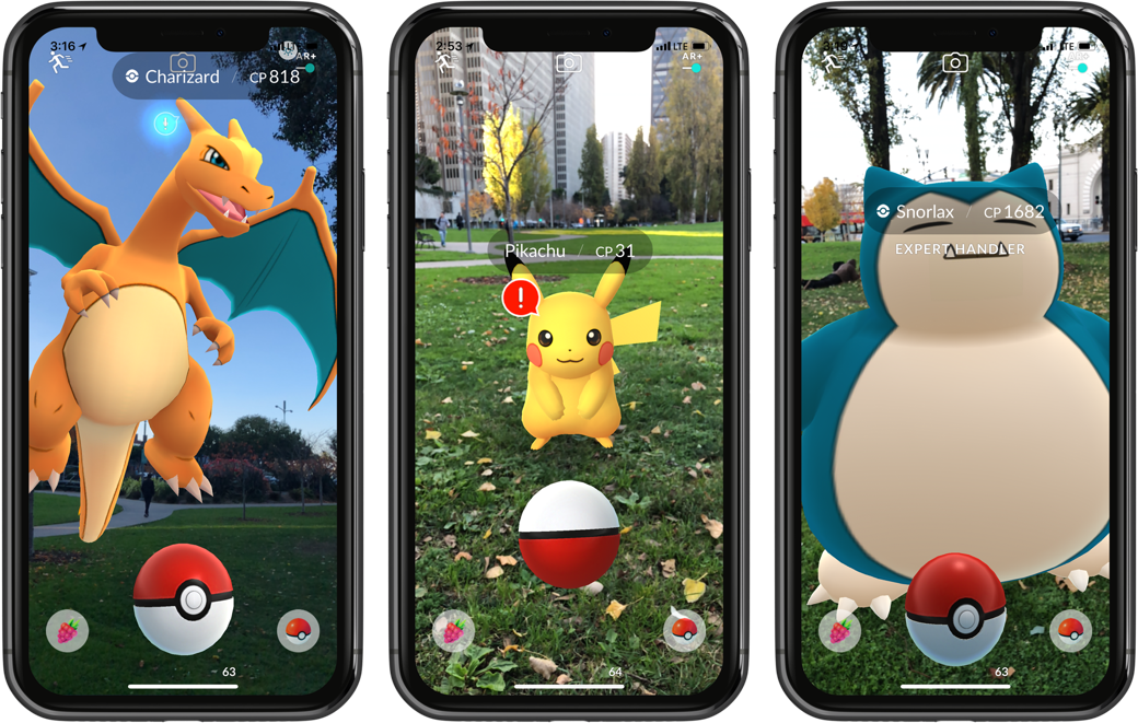Pokémon GO ARKit screenshots 001