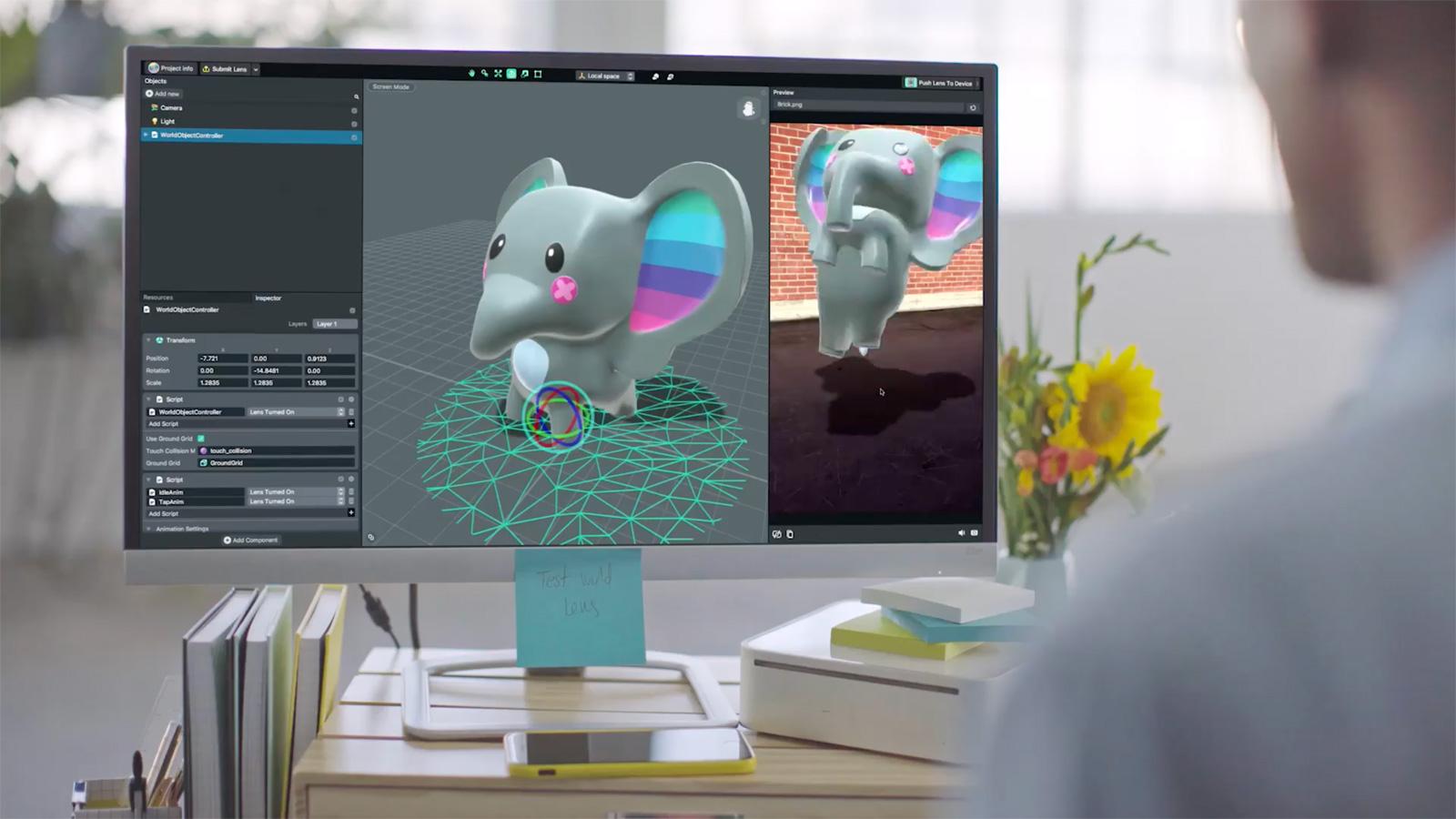 Snapchat Lens Studio laat je eigen AR-effecten maken