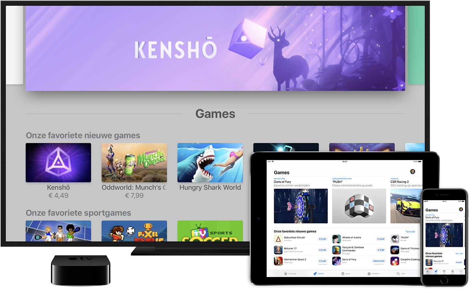 App Store Apple TV iPad iphone