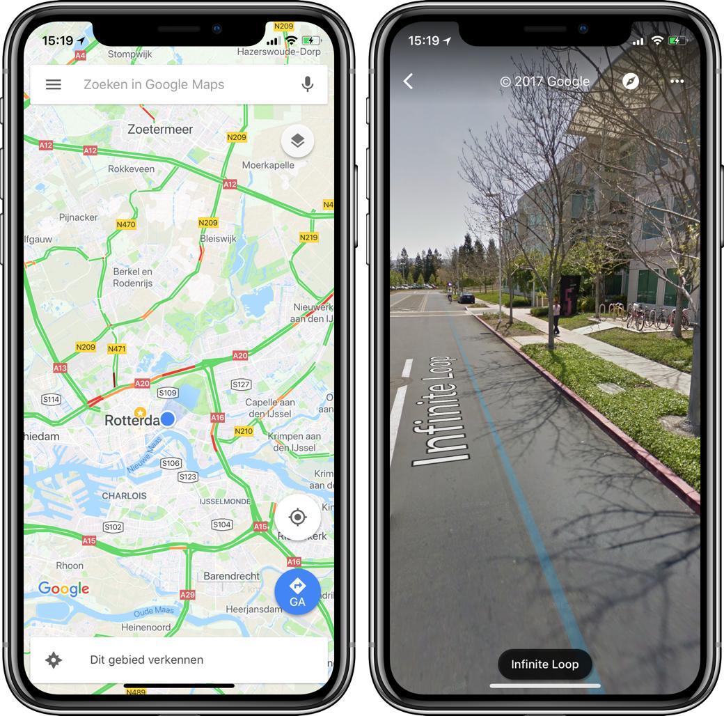 google maps iphone x 001