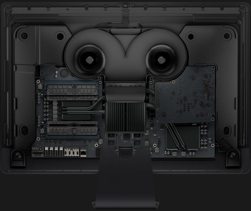 iMac Pro achterkant