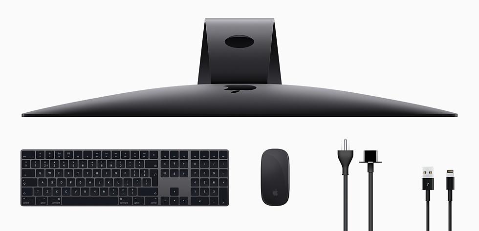 iMac Pro bovenaanzicht
