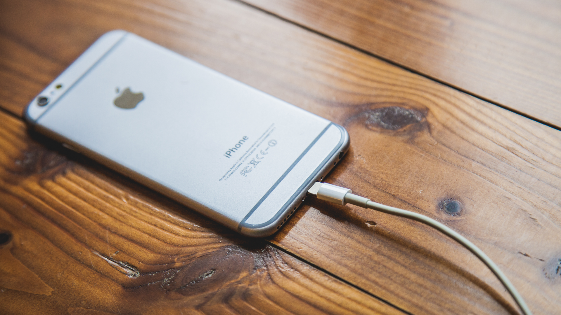 iPhone 6s charging 16x9