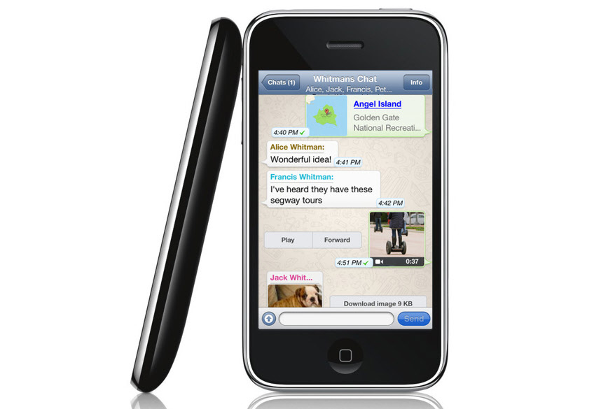 whatsapp iPhone 3gs