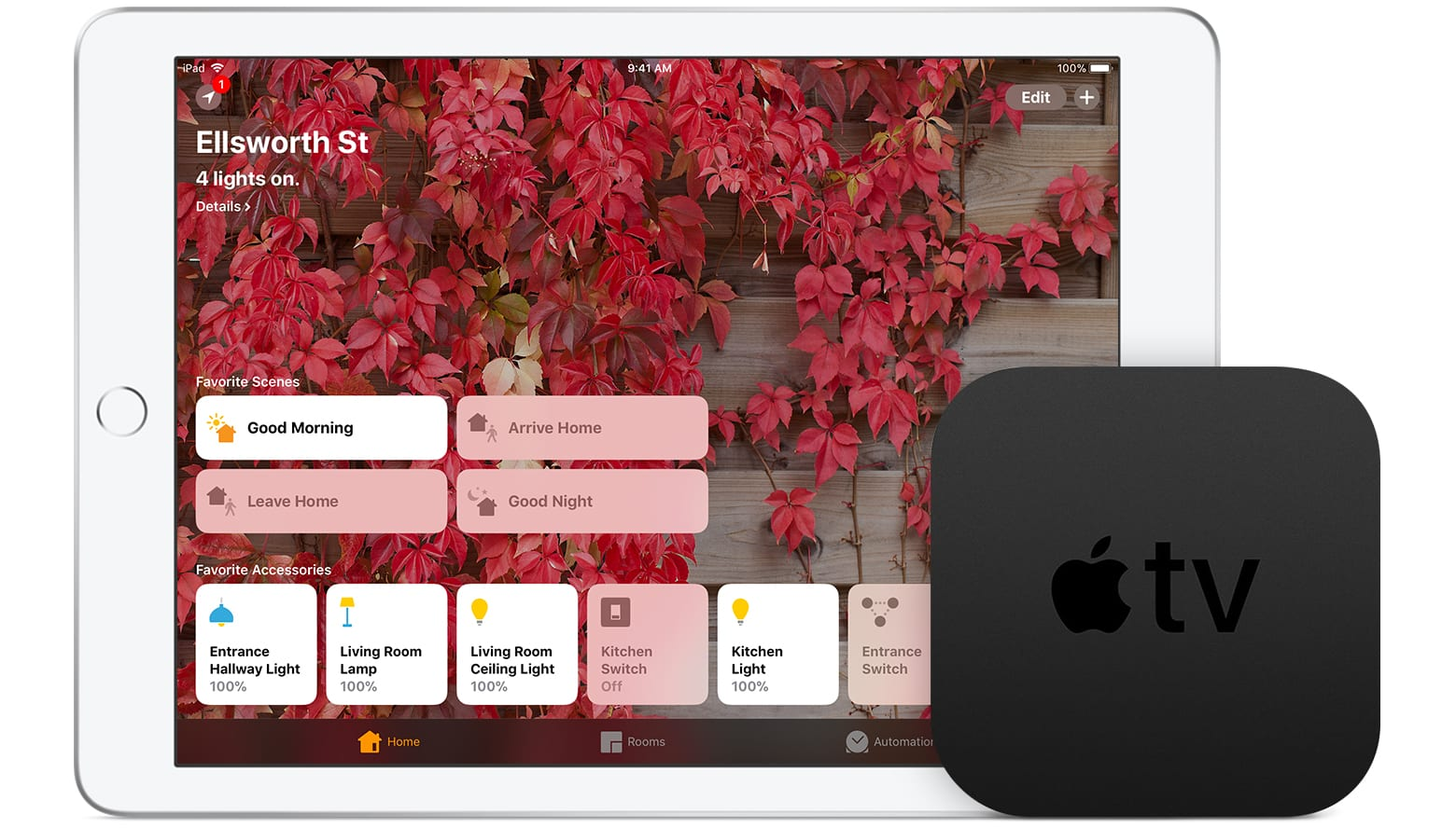 woning app homekit apple tv