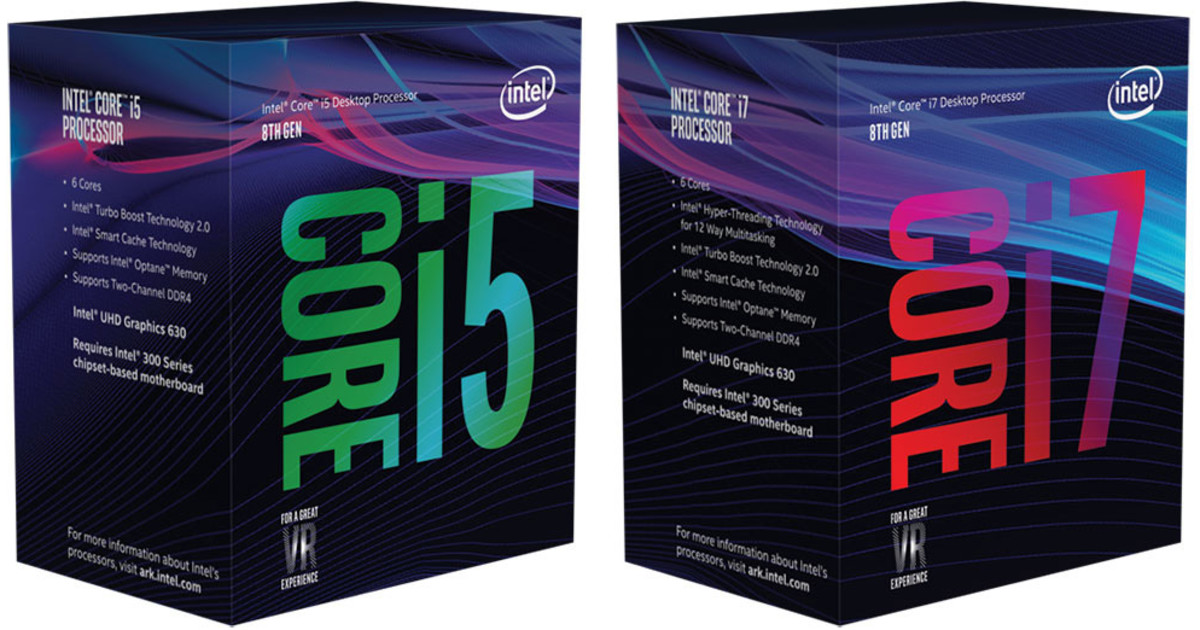 Intel 8th gen Coffee Lake