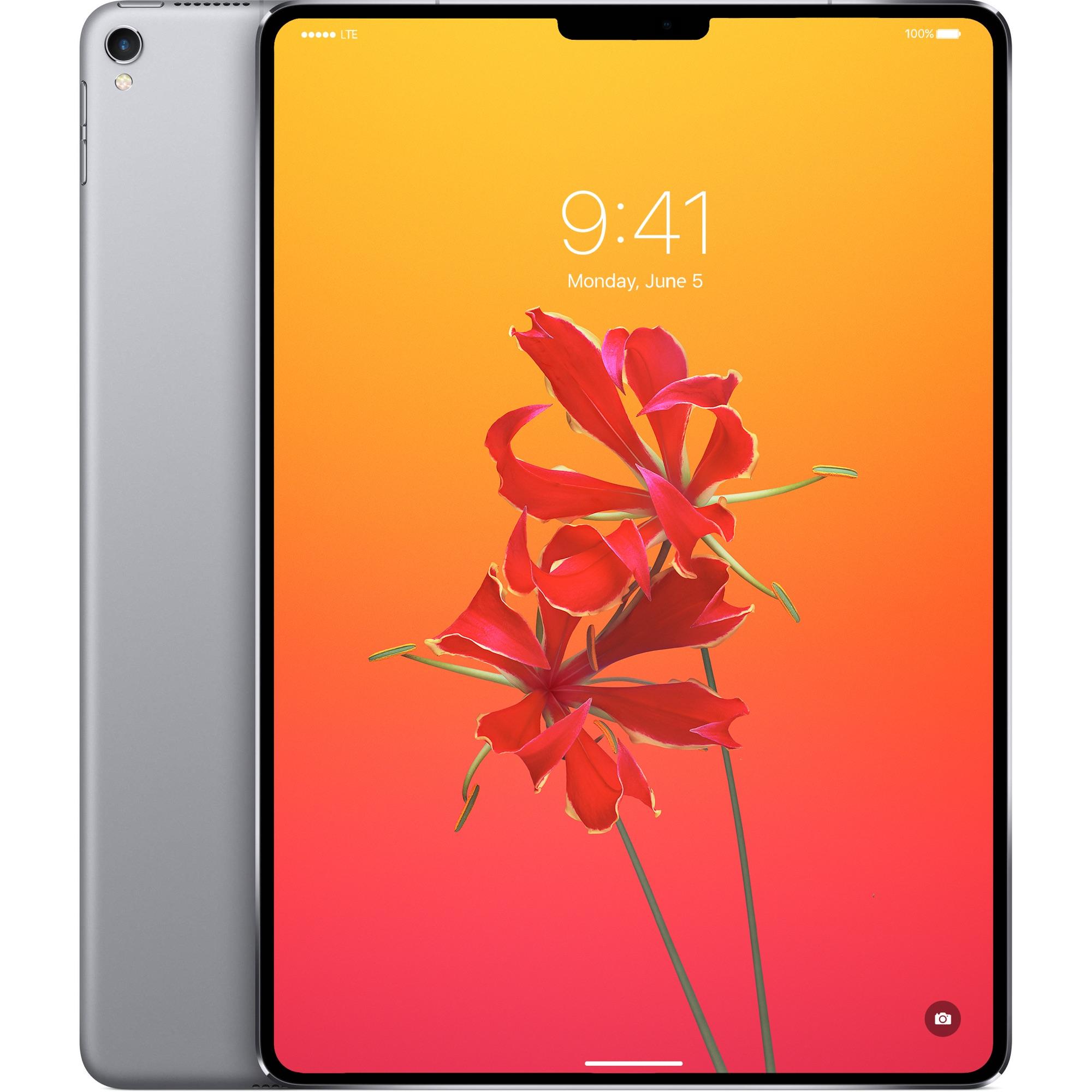 iPad Pro Face ID concept