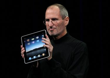 Steve Jobs iPad 2010 Apple