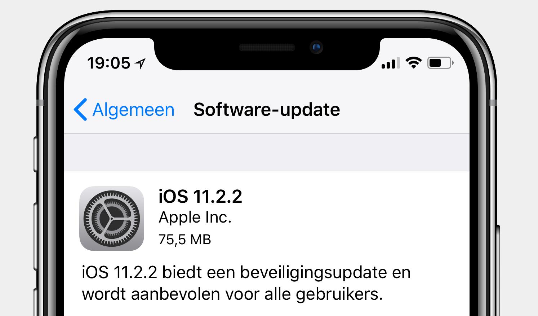 iOS 11.2.2 screenshot