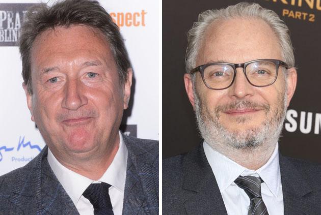 Steven Knigtht en Francis Lawrence
