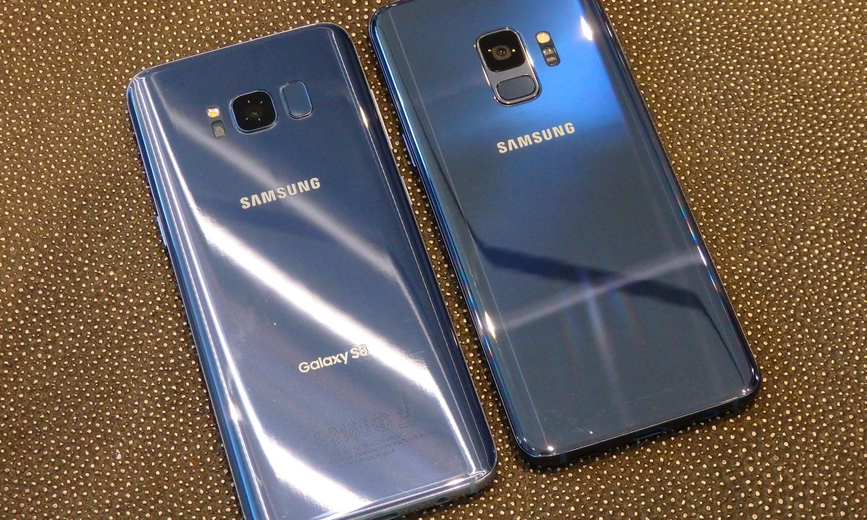 Galaxy S8 en Galaxy S9