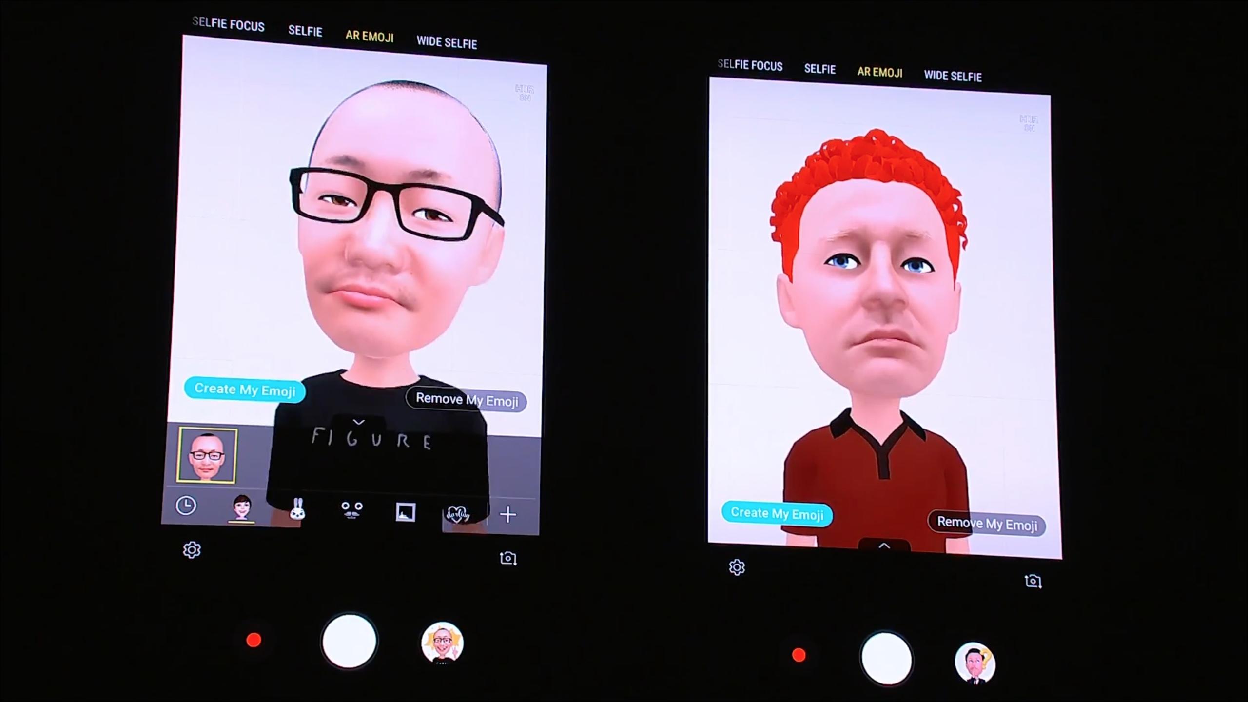 Samsung AR Animoji Galaxy S9