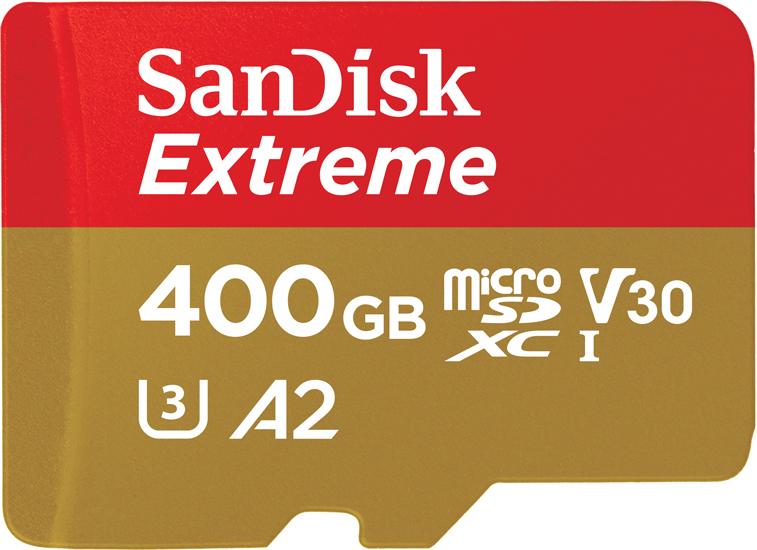 SanDisk Extreme microSD U3 A2 V30 400GB