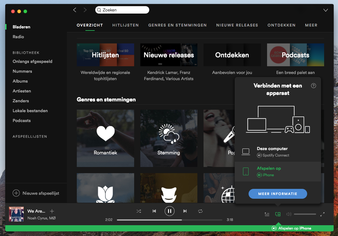 Spotify Mac Connect
