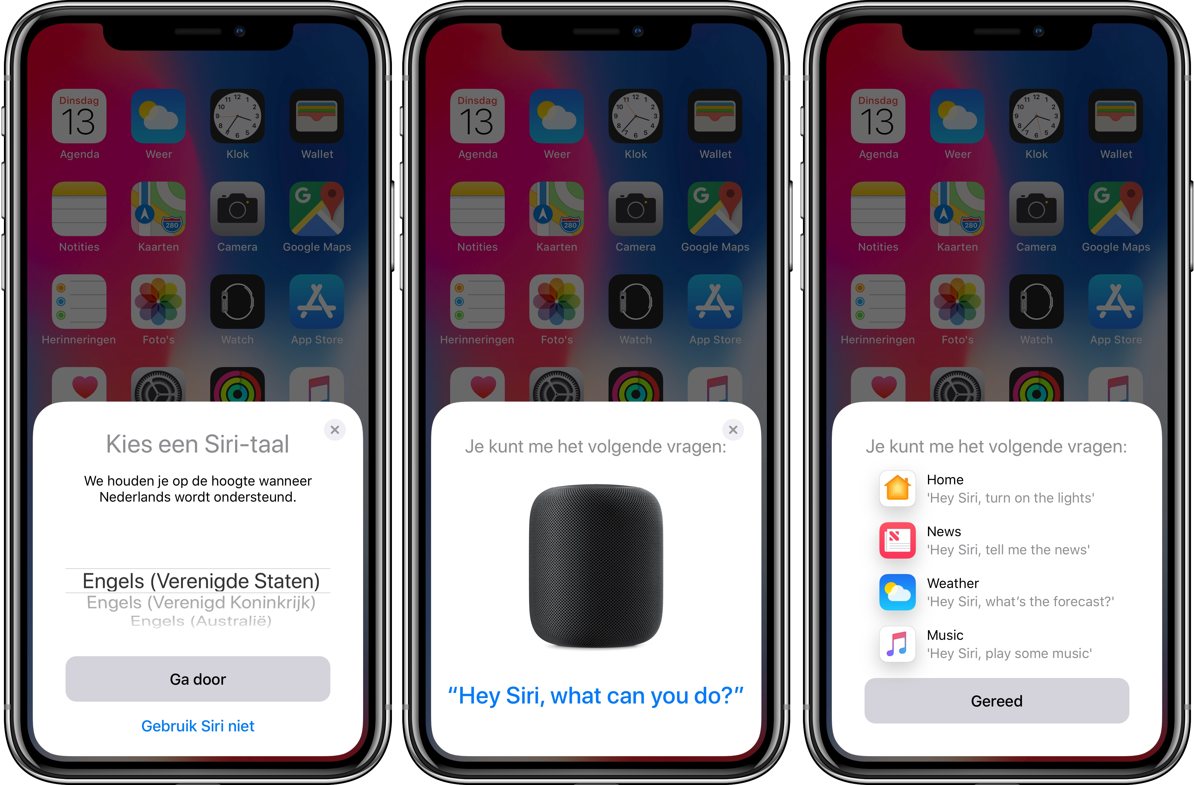 HomePod Siri UK