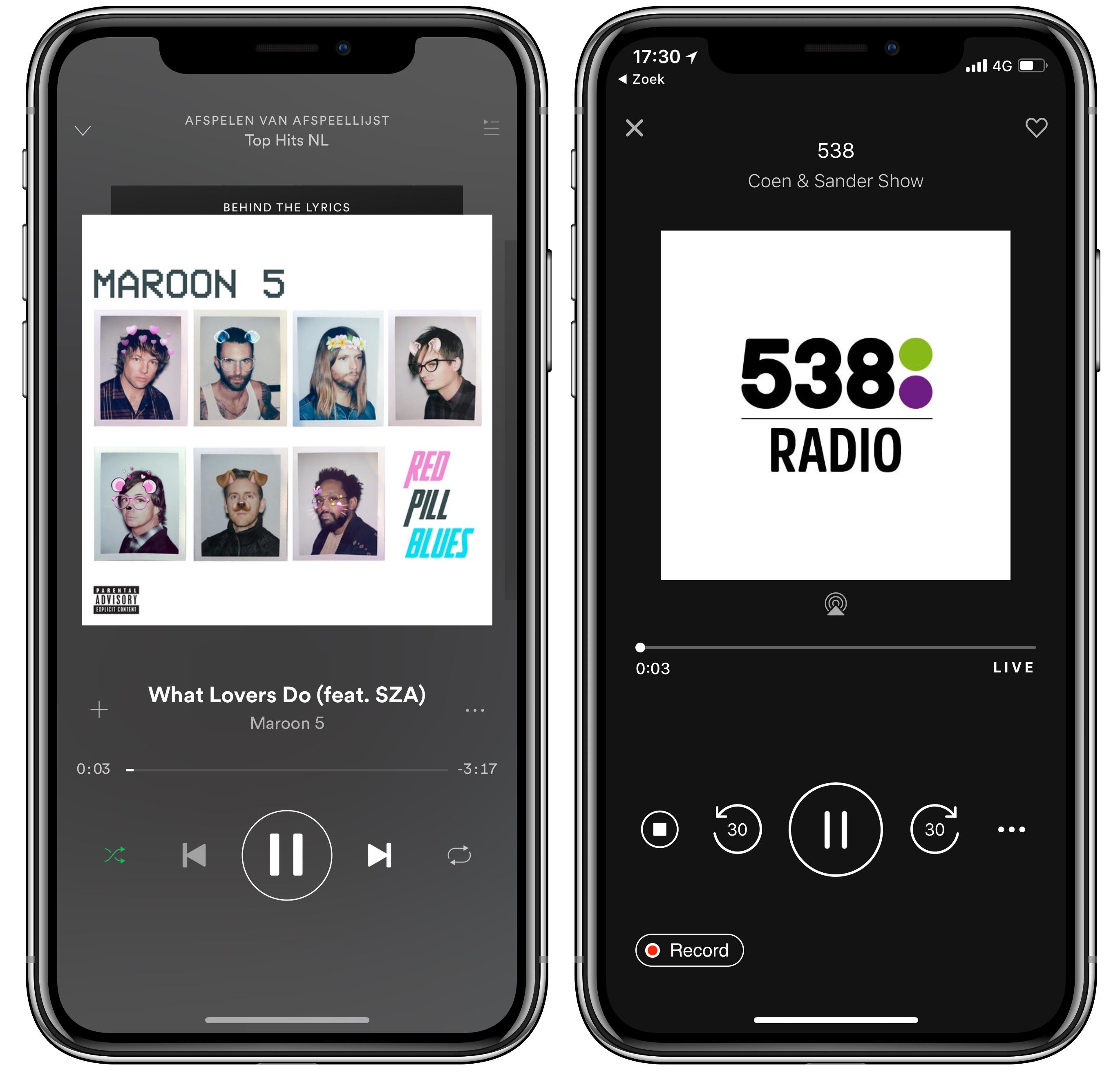homepod spotify tunein radio