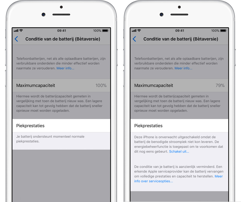 iOS 11.3 accu