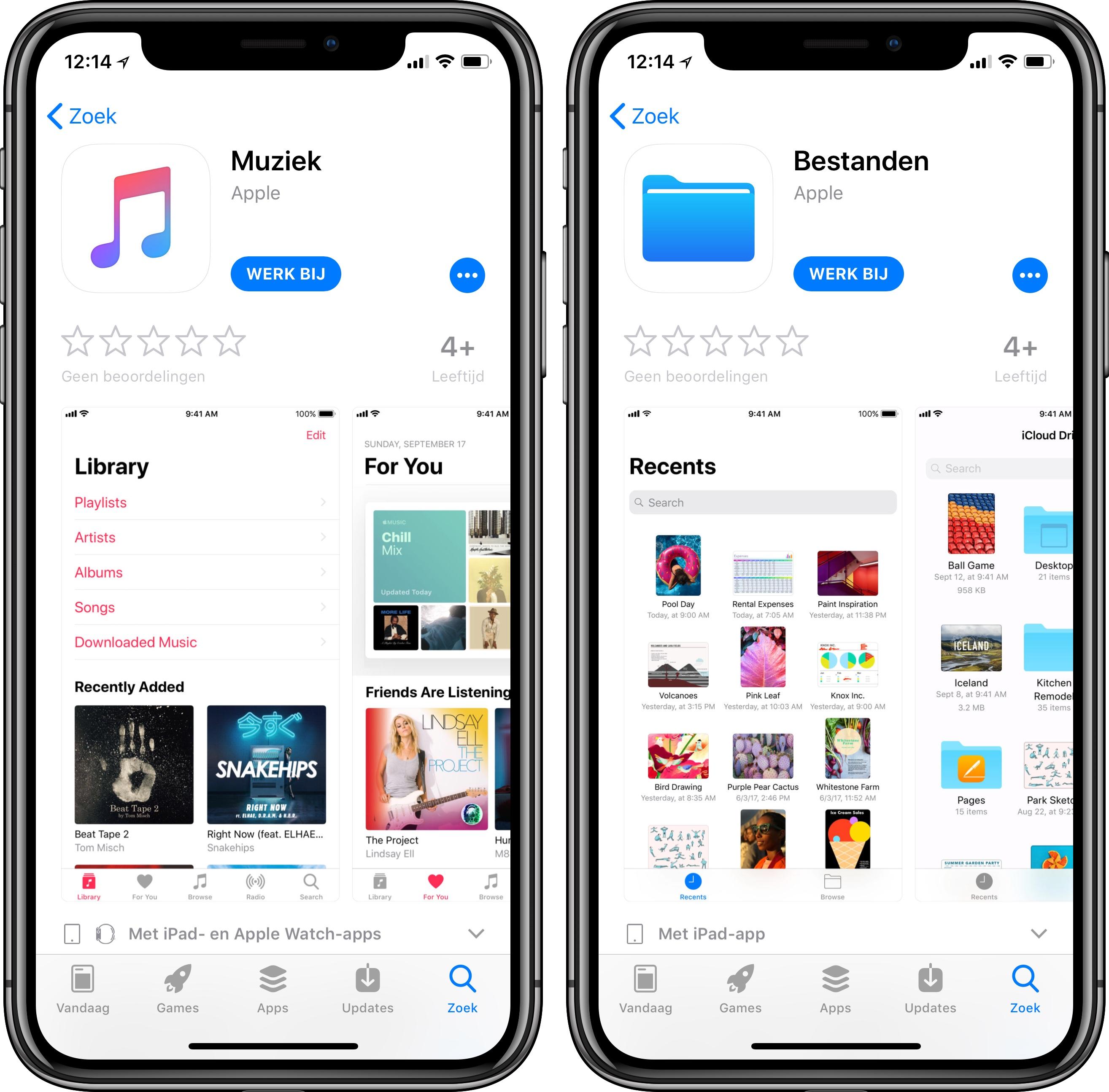 iOS Apps Update iOS 11.3