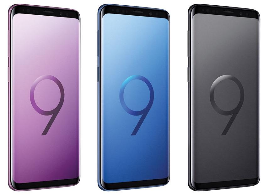 Galaxy S9 kleuren