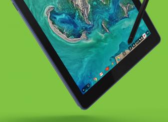 Acer Chromebook Tab 10 groen
