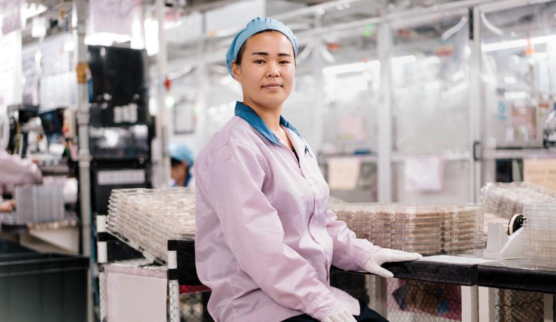 iPhone productielijn China