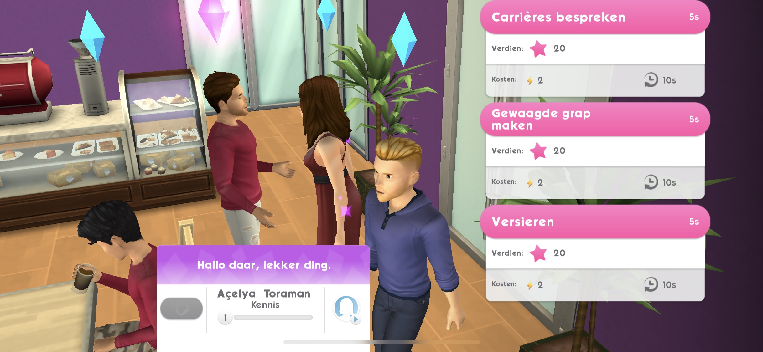De Sims Mobile Screenshot 1