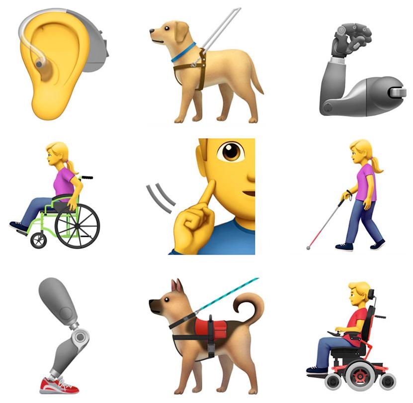 emoji beperking