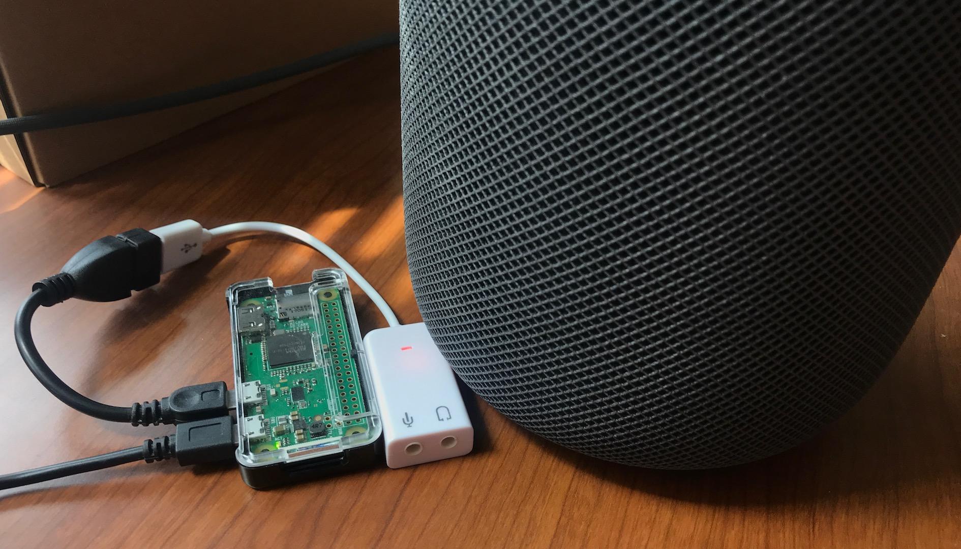 HomePod BabelPod Rapsberry Pi Zero