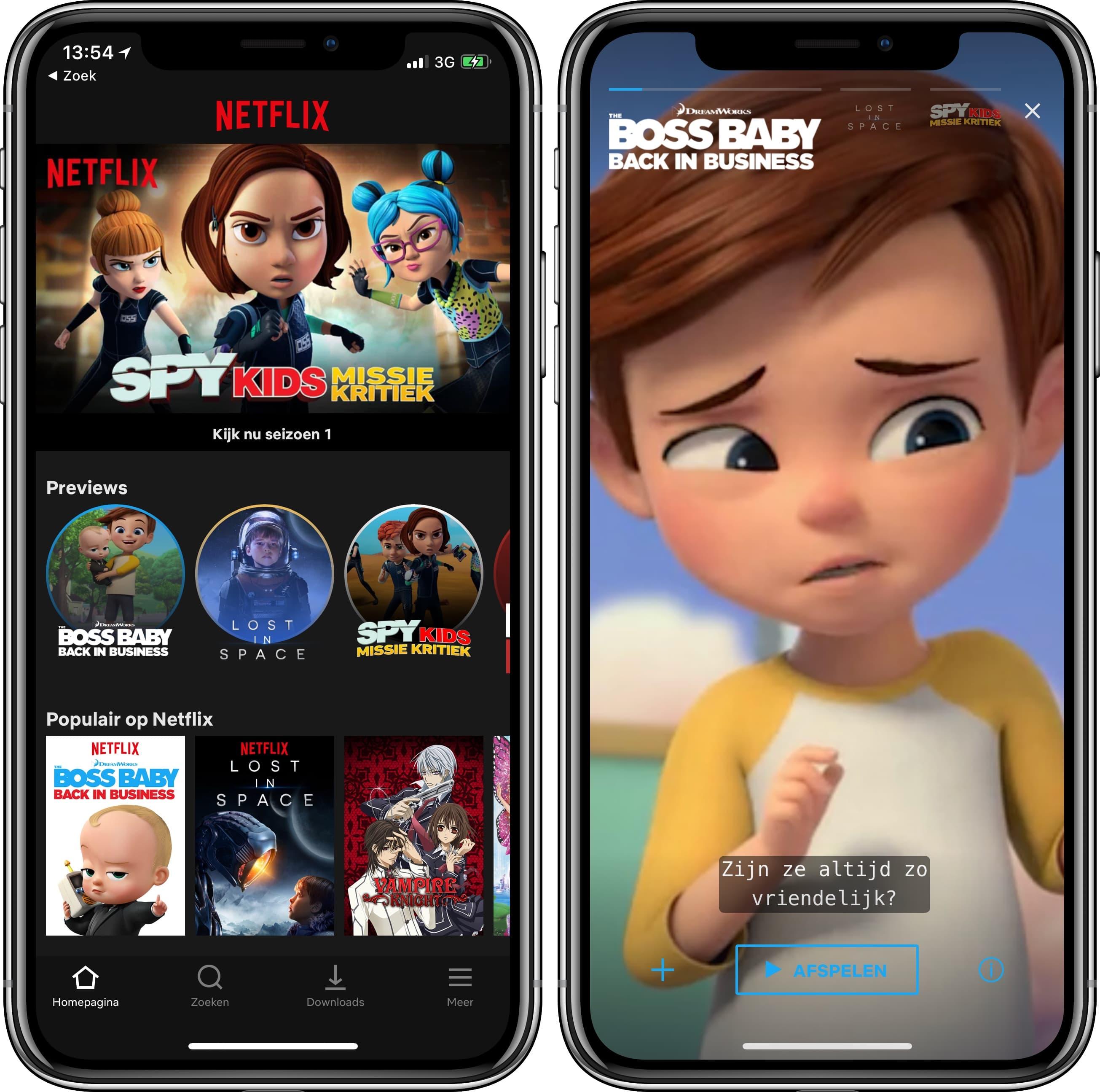 Netflix stories trailers