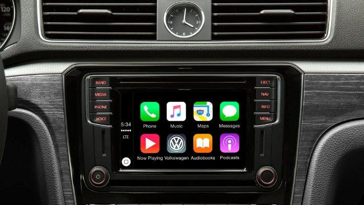 CarPlay VW Passat