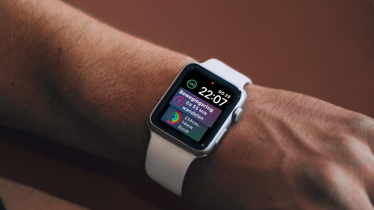 watchOS 4.3 Siri wijzerplaat
