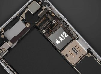 iPhone X A12 chip 7nm