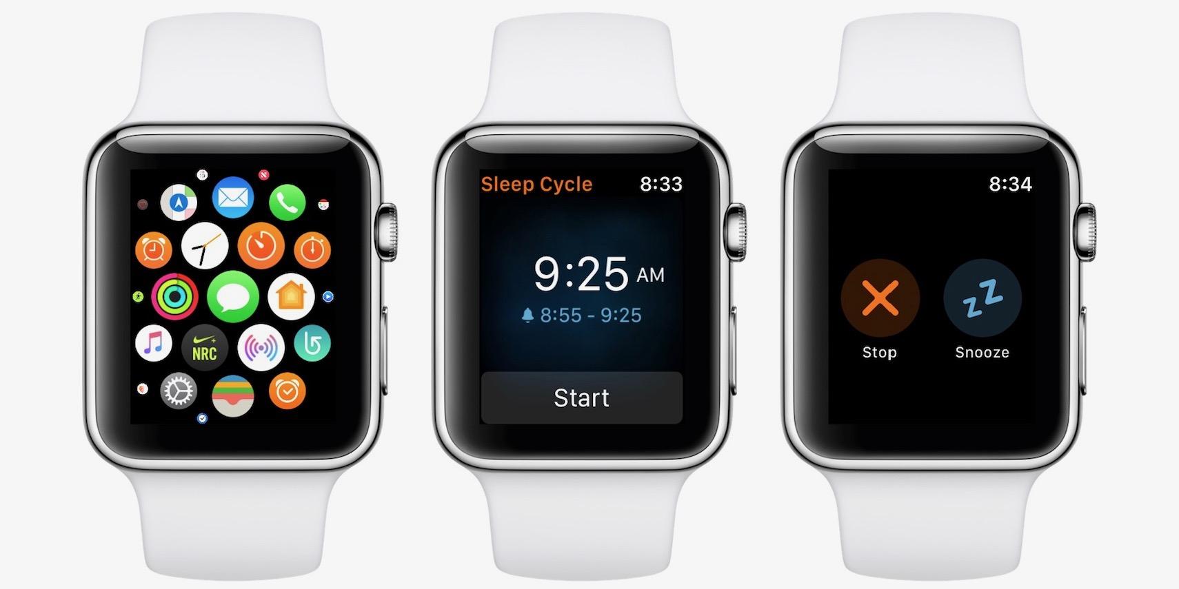 Sleep Cycle Apple Watch