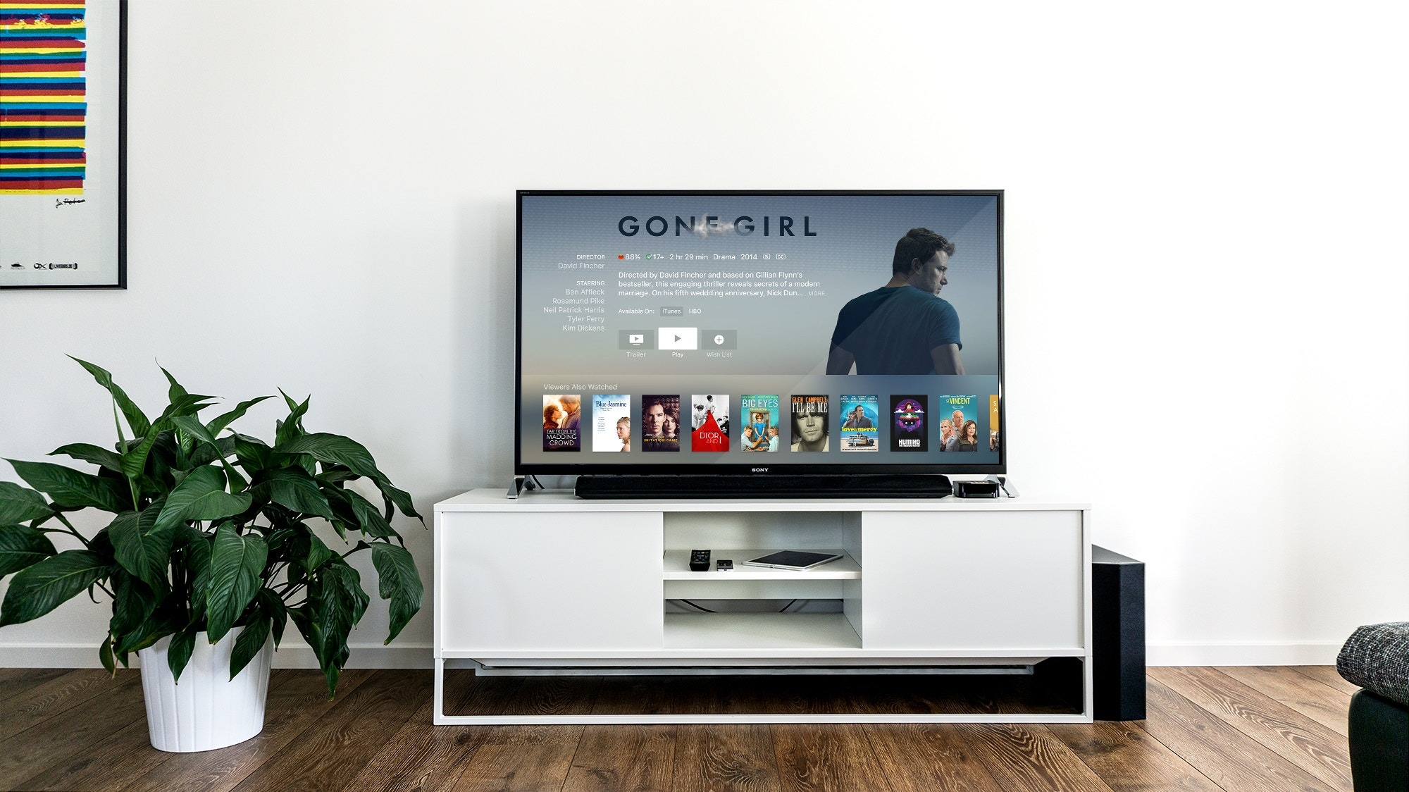 Streaming TV set