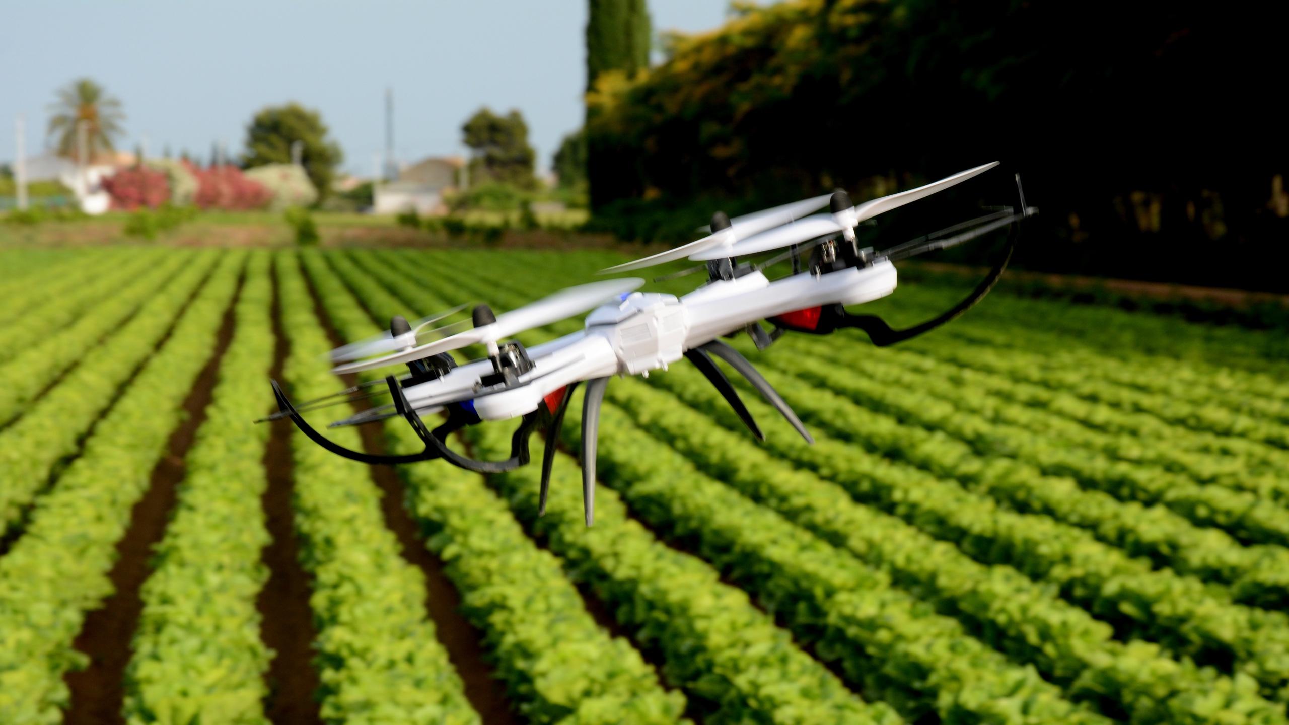 Drone 5G Landbouw