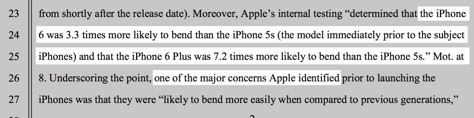 Bendgate iPhone 6