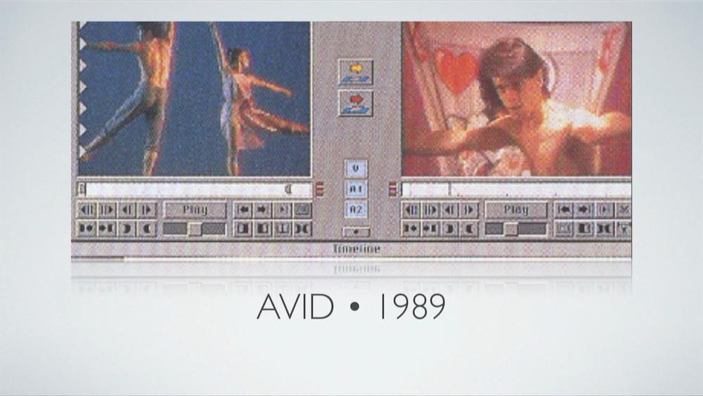 Avid Media Composer 1989