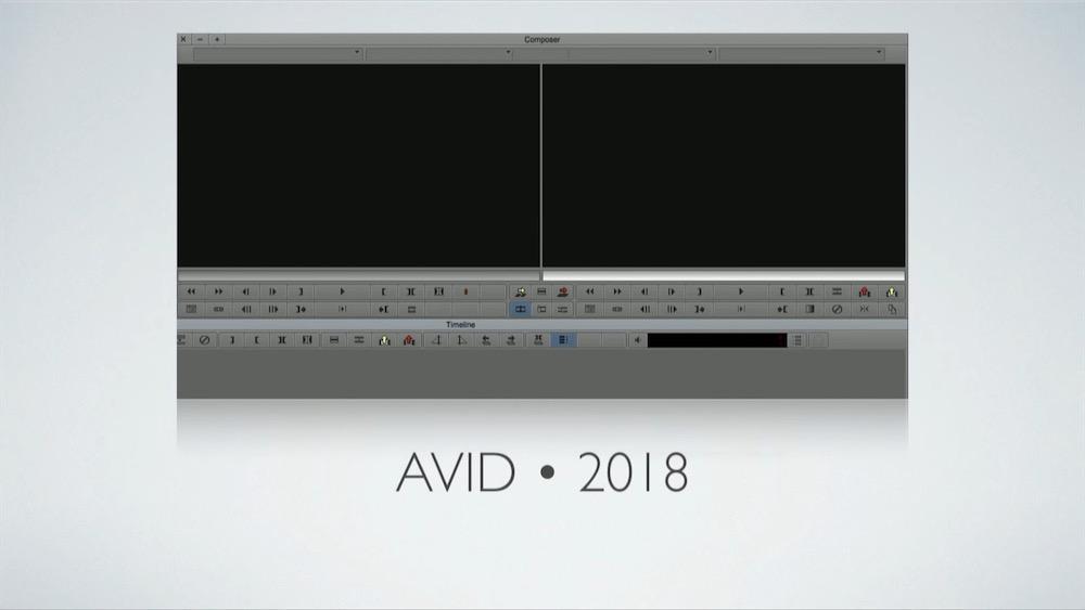 Avid Media Composer 2018