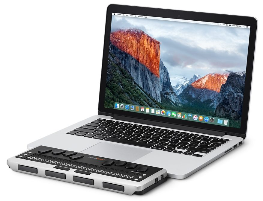 Brailleregel MacBook