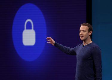 Facebook F8 2018 zuckerberg 16x9