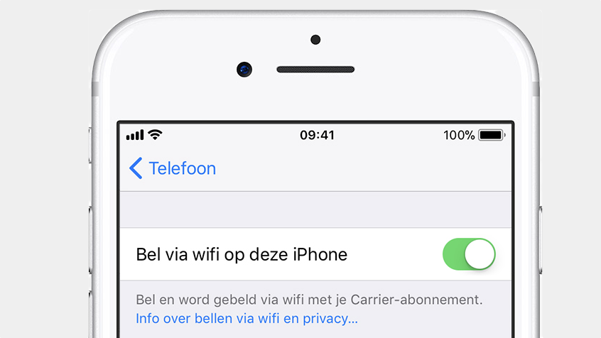 Bellen via Wi-Fi Orange België