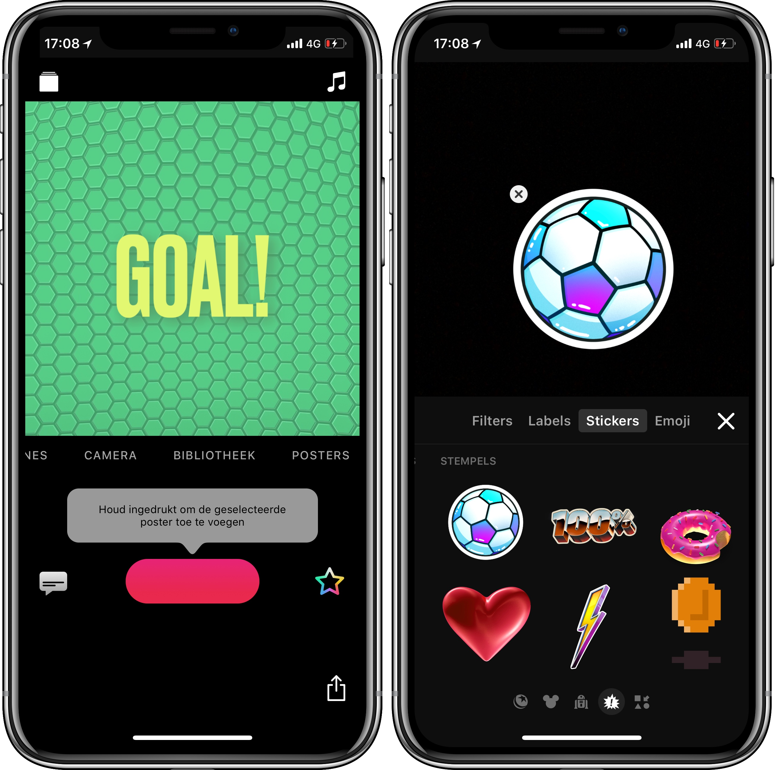 Clips-app WK 2018