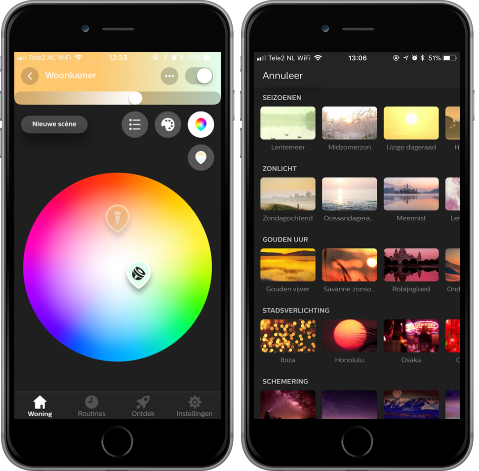Philips Hue-app 3.0 screenshots 002
