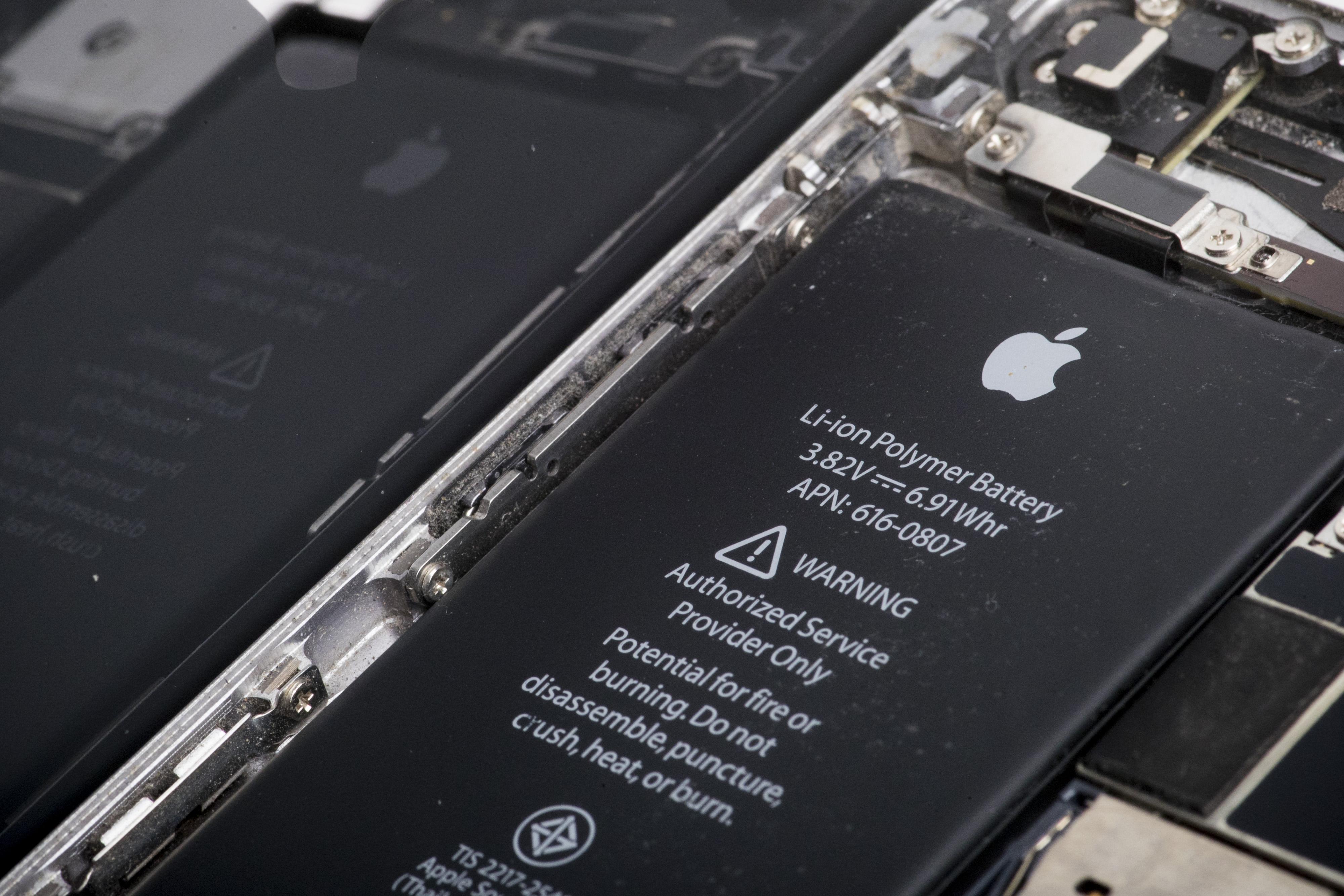iPhone accu