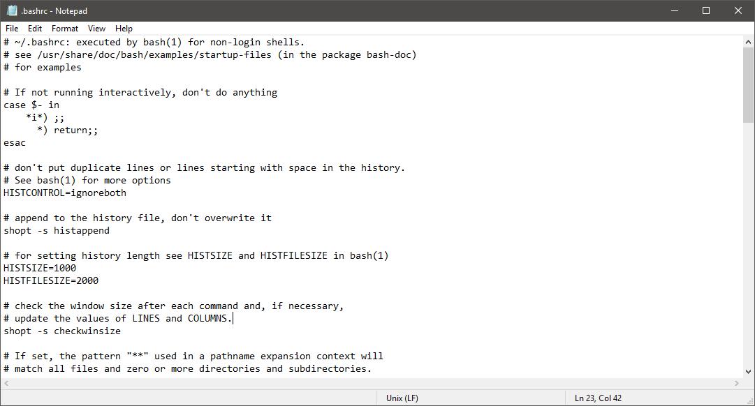 Windows Notepad Kladblok