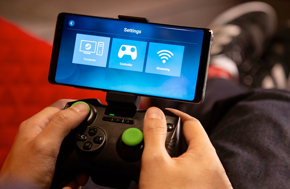 Steam Link iPhone Apple TV