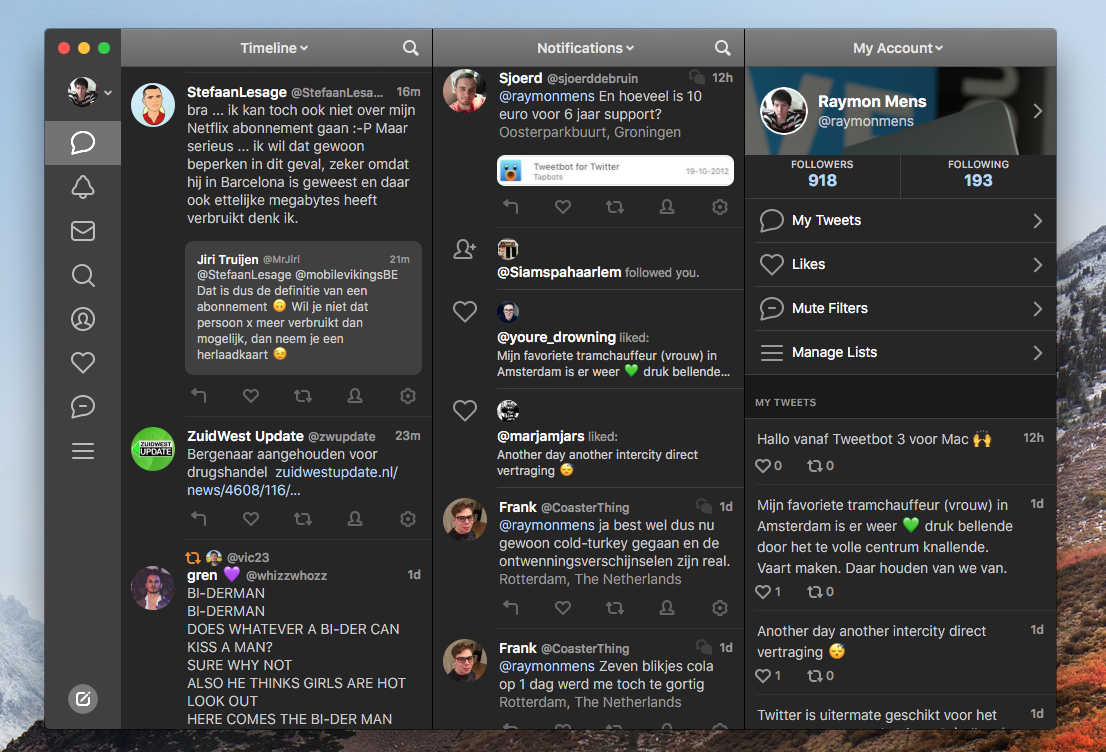 Tweetbot 3 Mac