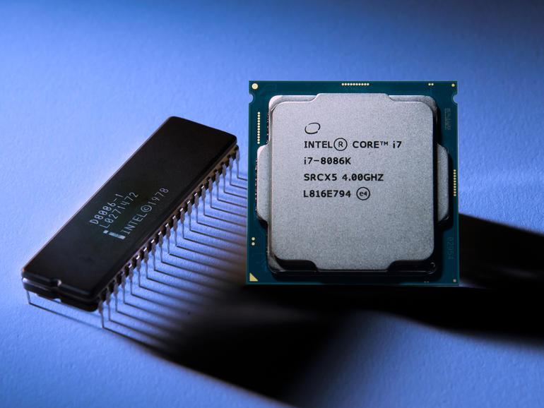 Intel 8086 vs i7